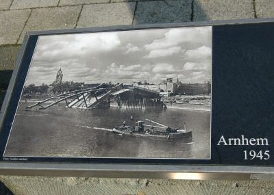 Arnhem bridge 1945