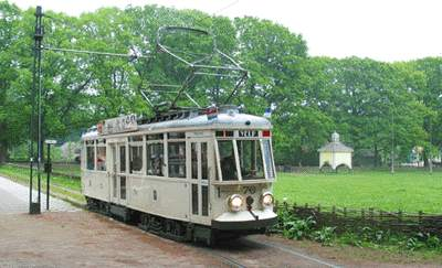 Historical tram - Openluchtmuseum
