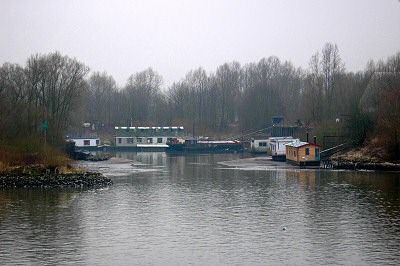 River Rhine Houseboat